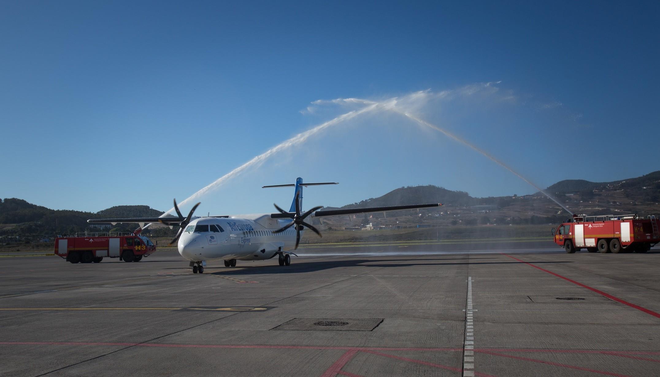 Air europa inicia operaciones entre las islas canarias aviaci n contacto news - Transporte entre islas canarias ...
