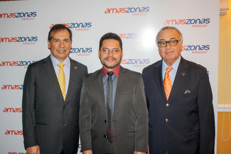 Alberto Cabrera, Eddy Luis Franco y Augusto Fuster