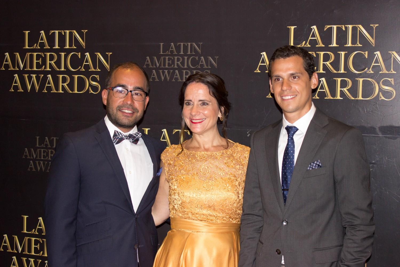 Sebastian Muñoz, Josefina de Zan y Carlos Pavon