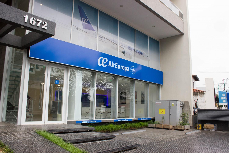 nuevas oficinas de air europa en asunci n sociales