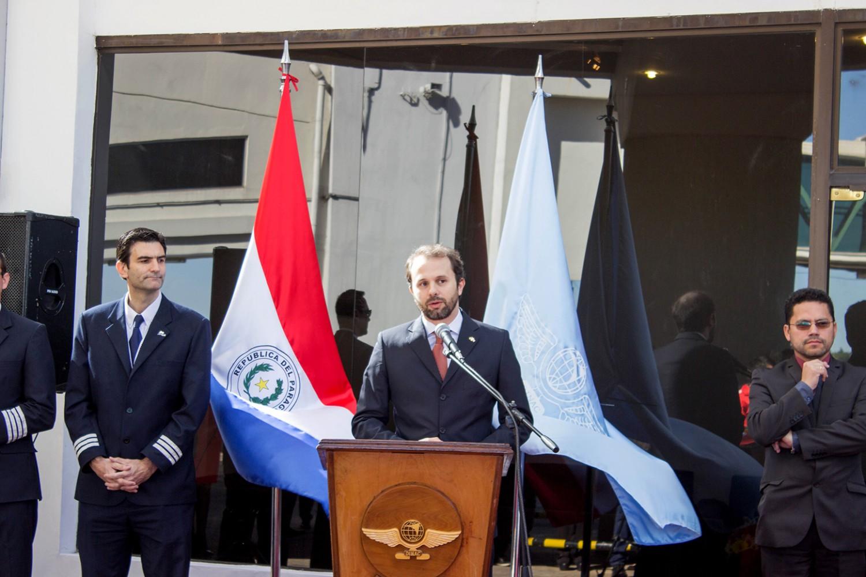 Luiz Fellipe Flores Schmidt, jefe del Sector de Comercio, Inversiones y Turismo de la Embajada de Brasil en Paraguay