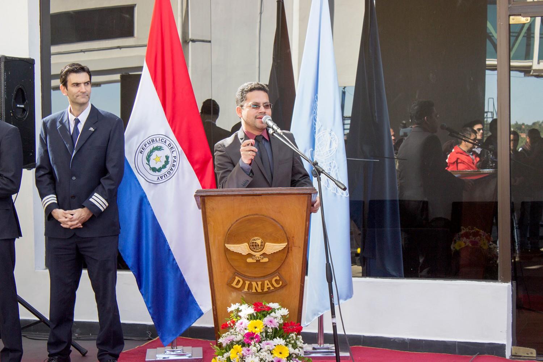 Eddy Luis Franco, gerente de Comunicación Institucional y Responsabilidad Social del Grupo Amaszonas