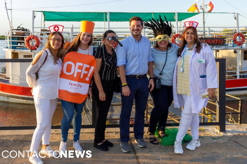 Todas las fotos del Carnaval de DTP en Asunción