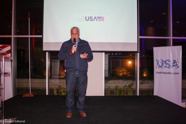 Alejandro Salza, presidente del Visit USA Committee Paraguay
