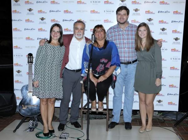 Josefina de Zan, Jorge Bravo, Viviana Di Fonzo, Jose Carlos Brunetti, Ana Laura Brunetti
