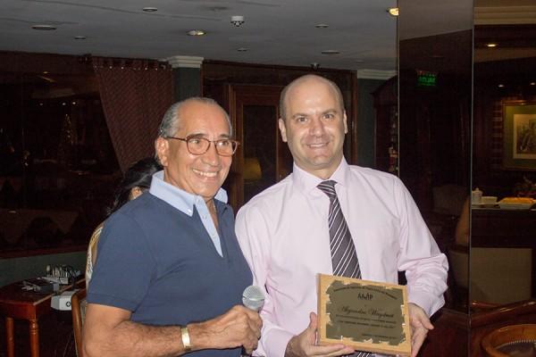 Ricardo Felippo y Alejandro Waysburt de Copa Airlines