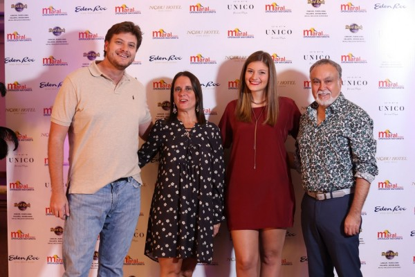 Jose Carlos Brunetti, Josefina De Zan, Ana Laura Brunetti, Jorge Bravo
