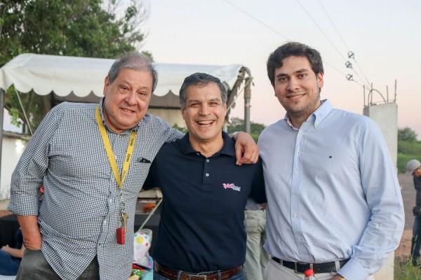 Francisco Ramirez Vouga, Nelson Ferreira y Eligio Torres