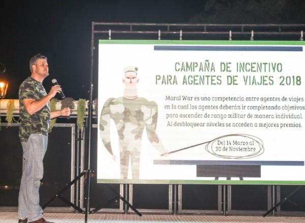 Jose Carlos Brunetti durante la presentación