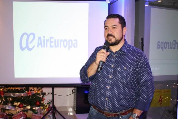 Olavi Linkola, Gerente General de Air Europa para Bolivia y Paraguay