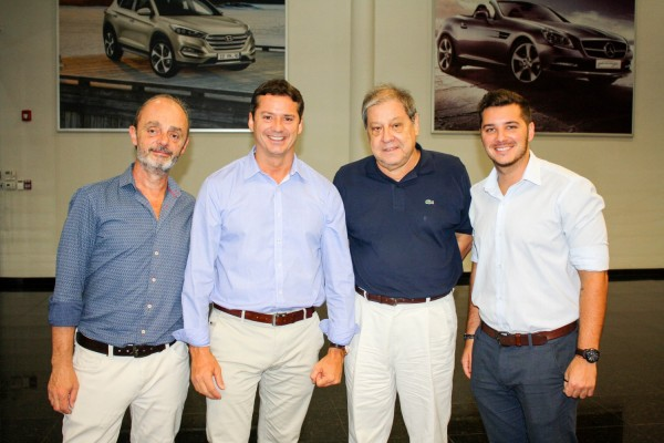 Guillermo Pontorriero, David Prono, Francisco Ramirez Vouga y Joaquin Prono