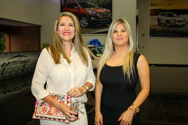 Elena de Vallet y Laura Davalos