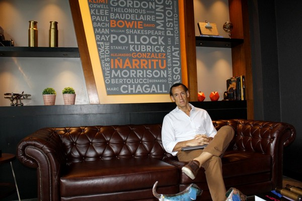Julio Ducdoc, director general de Rochester Hotels