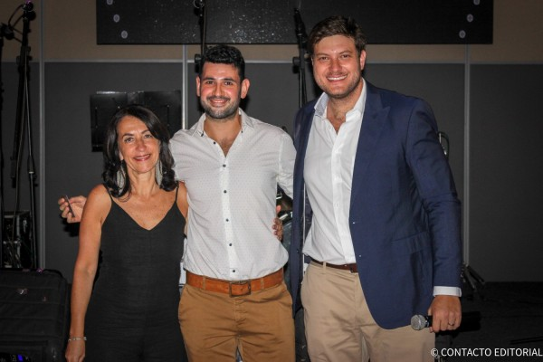 Alejandra Teich, Angelo Macchi y Jose Carlos Brunetti