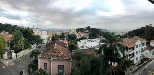 Vista del Barrio Santa Teresa desde el Santa Teresa Hotel Mgallery by Sofitel