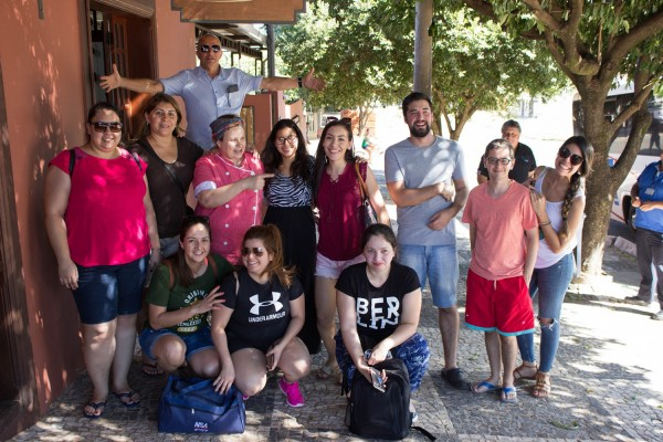 Grupo participante del famtour en Campo Grande