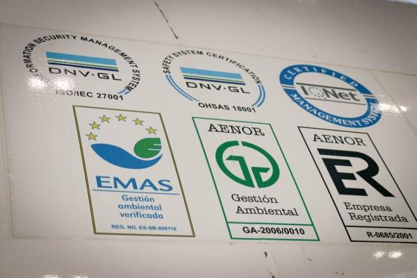 Certificaciones que poseen los aviones de Air Europa
