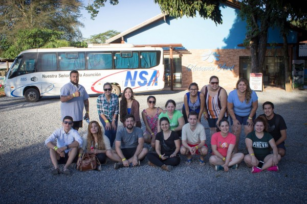 Grupo en la Nascente Azul, Bonito