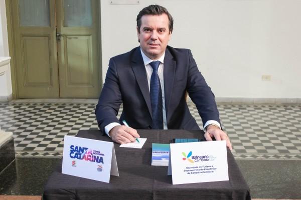 Miro Teixeira, secretario de Turismo de Balneario Camboriú