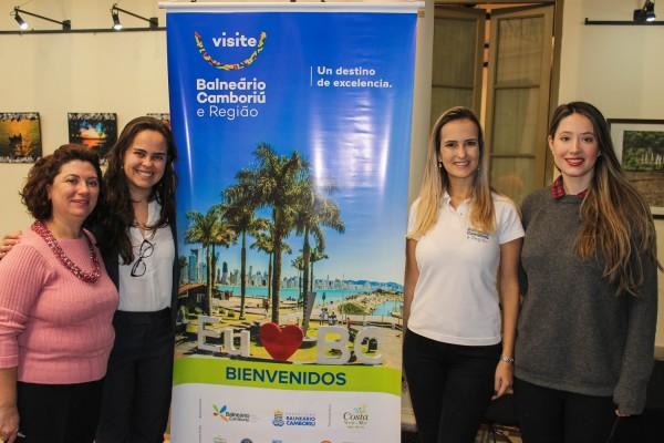 Cristina Santana, Ana Beatriz Serpa, Ludiane de Oliveira y Rocio Ramirez Rojas
