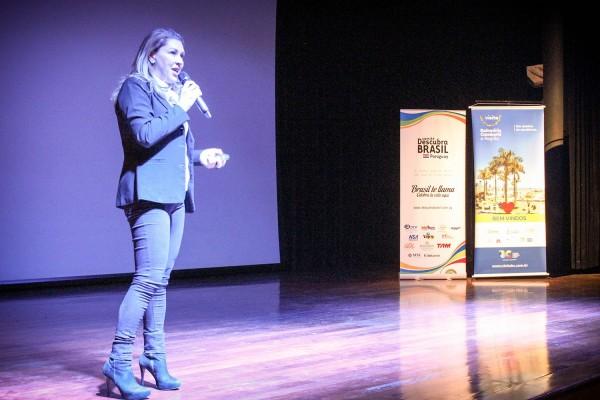 Margot Rosenbrock, vicepresidente  de la Federación de Convenios y Visitantes Bureaux del Estado de Santa Catarina
