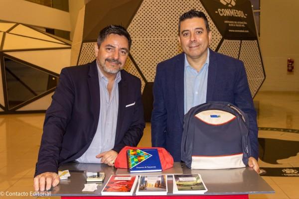 Hugo Dopazzo y Jorge Ravenna