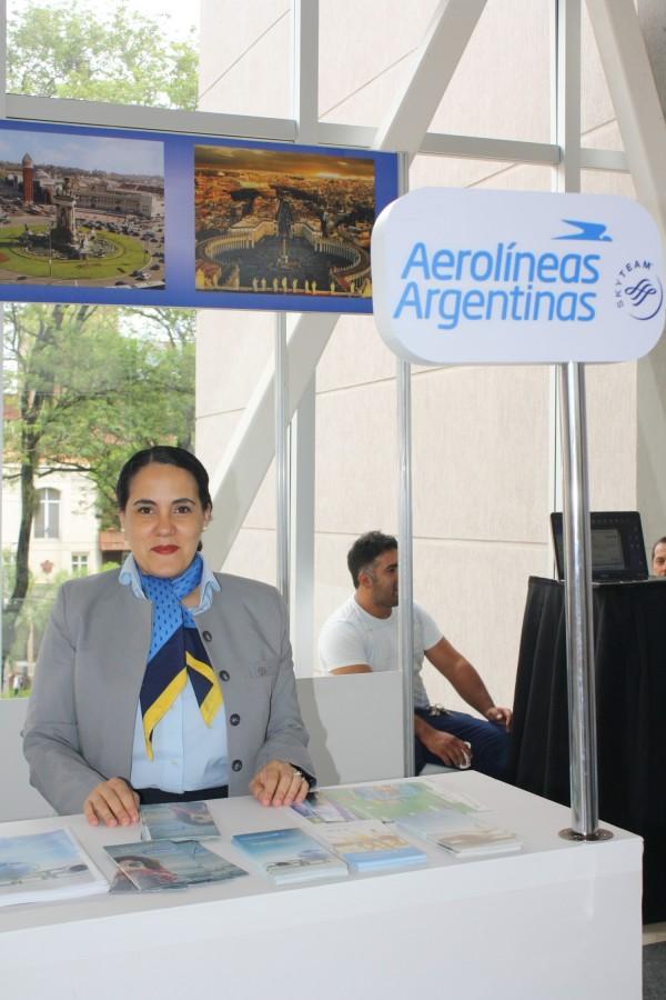 Representante de Aerolineas Argentinas