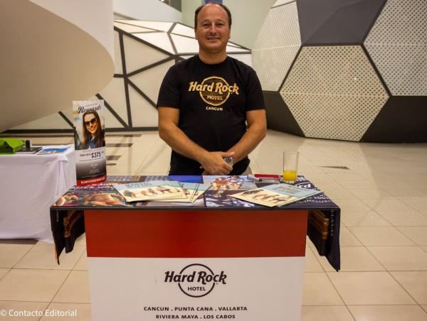 Mario Traverso como ejecutivo de Ventas de Hard Rock Hotels
