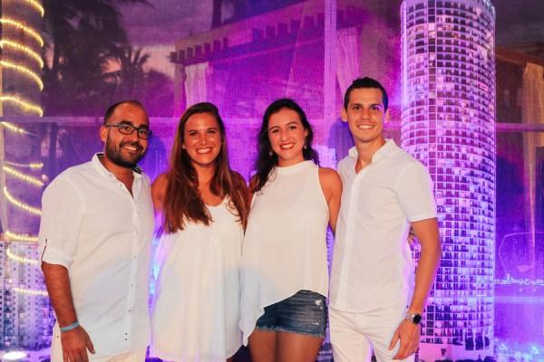 Sebastian Muñoz, Gabriela Morales, Paloma Sanchez y Carlos Pavon