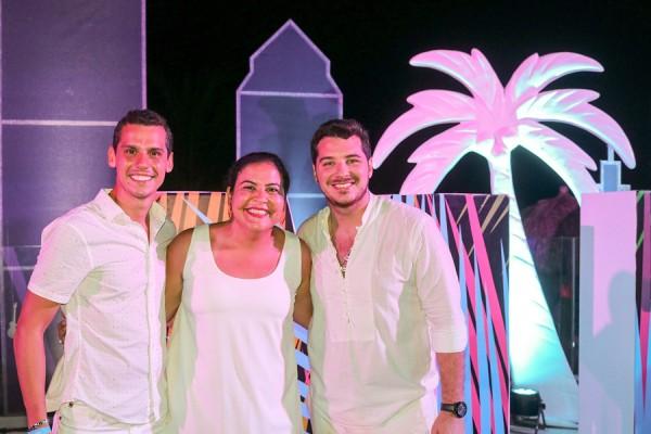 Carlos Pavon, Analia Rojas y Joaquin Prono