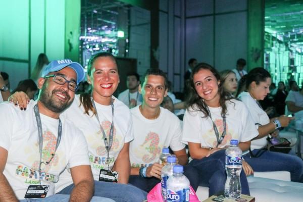 Sebastian Muñoz, Gabriela Morales, Carlos Pavon y Paloma Sanchez