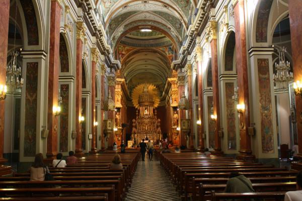 Basilica de la ciudad de Salta