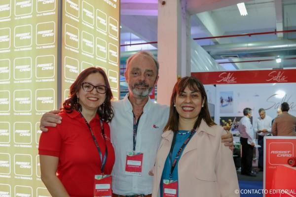 Claudia Cano, Guillermo Pontorriero y Marta Ruiz