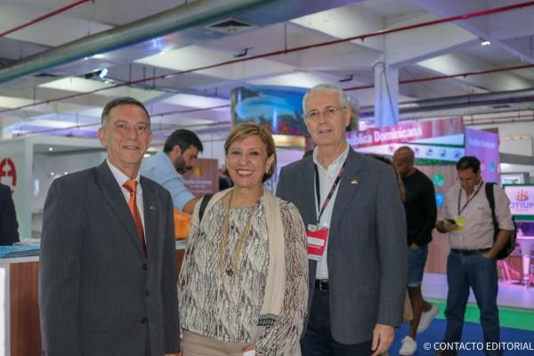 Victor Pavon, Marta Chamorro y Ronald Birks