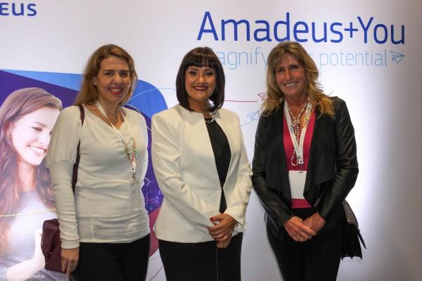 Silvia Aguero, Johanna Izquierdo y Lourdes Galli
