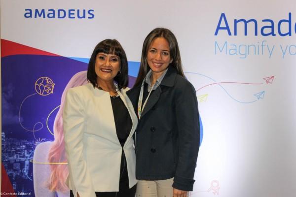 Johanna Izquierdo y Romina Diaz