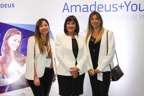 Carolina Pons, Johanna Izquierdo y Romina Fernandez