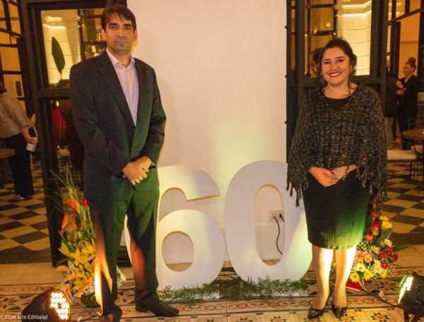 Carlos Cardozo y Sofia Montiel