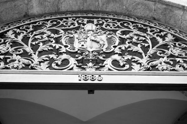 Entrada del Monasterio de Sao Bento