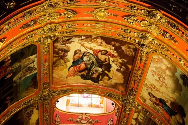 Interior del Monasterio de Sao Bento