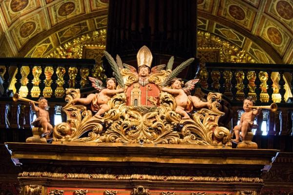 Interior del del Monasterio de Sao Bento