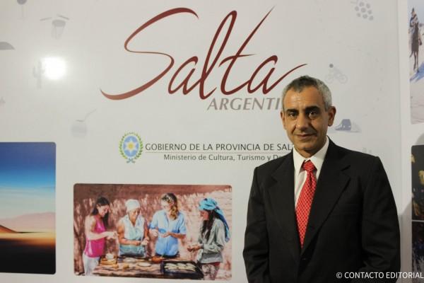 Jorge Mauger, Cordinador de Turismo de Salta