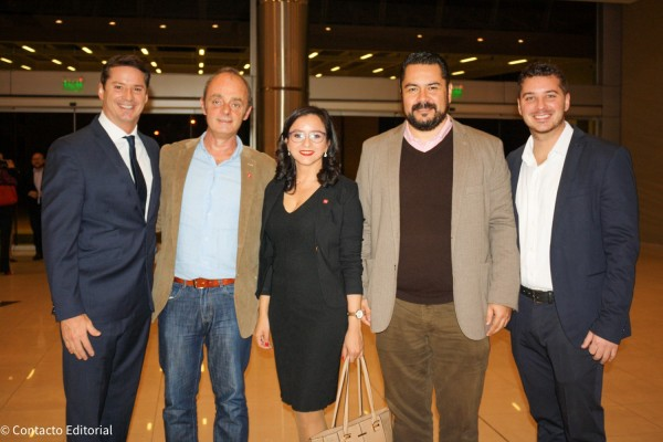 David Prono, Guillermo Pontorriero, Claudia Cano, Olavi Linkola y Joaquin Prono