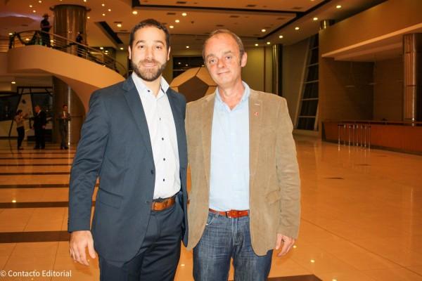 Enzo Pangracio y Guillermo Pontorriero