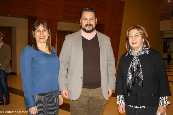 Marta Ruiz, Olavi Linkola y Doris Penoni