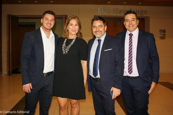 Joaquin y Sylvia Prono con Hugo Dopazo y Jorge Ravenna