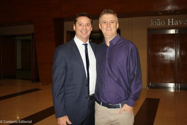David Prono y Lucas Ozuna, ejecutivo comercial de Europamundo Vacaciones