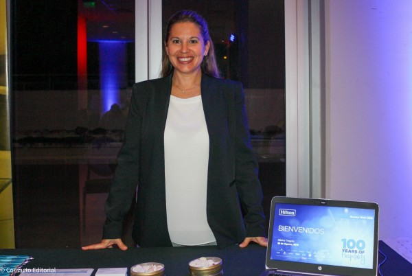 Silvina Trogolo, Director of Sales  deHilton Worldwide Sales