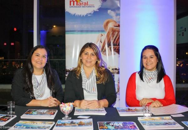 Analia Rojas, Margarita Gonzalez y Cristina Peralta de Maral Turismo