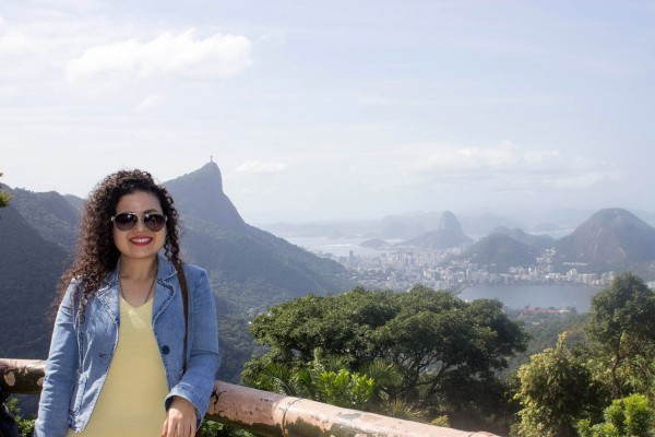 Nadia Ramirez de la Embajada del Brasil en Paraguay